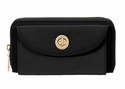 Baggallini Black Kyoto Wallet with RFID Shield