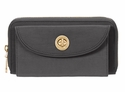 Baggallini Charcoal Kyoto Wallet with RFID Shield