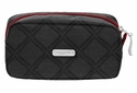 Baggallini Charcoal Link Square Cosmetic Case