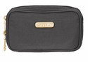 Baggallini Charcoal Vienna Cosmetic Case