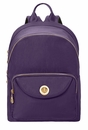 Baggallini Grape Brussels Laptop Backpack