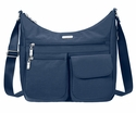 Baggallini Pacific Everywhere Crossbody Bag with RFID Shield