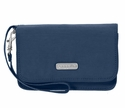 Baggallini Pacific Flap Wristlet Wallet with RFID Shield