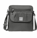 Baggallini Pewter Dilly Dally Crossbody Bag