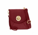 Baggallini Scarlet Athens Crossbody Wallet with RFID Shield