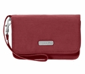 Baggallini Scarlet Flap Wristlet Wallet with RFID Shield