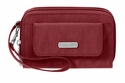 Baggallini Scarlet Wristlet Wallet with RFID Shield