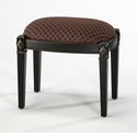 Bailey Distressed Black Wood Stool by Cyan Design