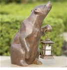 Bear with Lantern by SPI Home