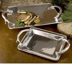 Beatriz Ball Western Antlers Rectangular Tray - Extra Large
