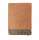 Birchwood Arturo Orange Dots Cashmere Throw