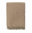 Birchwood Arturo Taupe Cashmere Throw