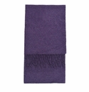 Birchwood Carrigan Purple Lambswool Scarf