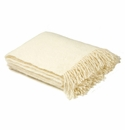 Birchwood Foxford Cream Mohair Throw