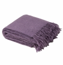 Birchwood Foxford Lilac Mohair Throw