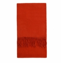 Birchwood Moygrove Orange Lambswool Scarf