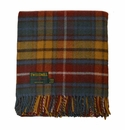 Birchwood Wales Antique Buchanan New Wool Throw