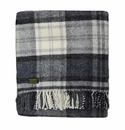 Birchwood Wales Grey New Wool Throw