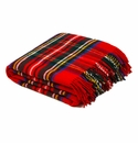 Birchwood Wales Royal Stewart New Wool Throw