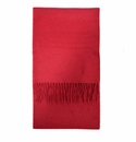 Birchwood Westport Red Lambswool Scarf