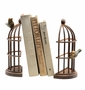Bird Cage Bookends by SPI Home