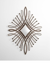 Bloom Iron Wall Mirror by Cyan Design