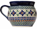 Boleslawiec Polish Pottery 16 oz Mug - Design DU60