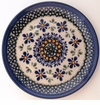 Boleslawiec Polish Pottery Bread & Butter Plate - Design DU60