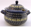 Boleslawiec Polish Pottery Covered Terrine - Design 175A