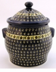 Boleslawiec Polish Pottery Extra Large Canister - Design 175A