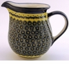 Boleslawiec Polish Pottery Large Pitcher - Design DU1
