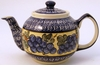 Boleslawiec Polish Pottery Large Teapot - Design DU8