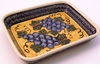 Boleslawiec Polish Pottery Medium Rectangular Baker - Design DU8