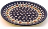Boleslawiec Polish Pottery Salad or Dessert Plate - Design 41A