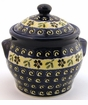 Boleslawiec Polish Pottery Small Canister - Design 175A