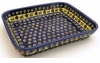 Boleslawiec Polish Pottery Small Rectangular Baker - Design 175A