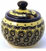 Boleslawiec Polish Pottery Sugar Bowl - Design DU1