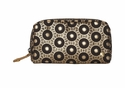 Bollywood Black Mini Cosmetic Pouch by Stephanie Johnson