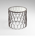 Bradley Iron Round Side Table by Cyan Design