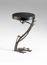 Branch Iron & Granite Side Table by Cyan Design