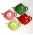 Bright Colors Assorted Tea Bag Holder Caddies (4) by Hues and Brews