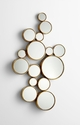 Bubbles Mirror by Cyan Design