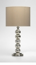 Burnish Gold Crackle Glass Table Lamp by Cyan Design