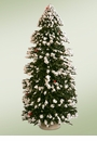"Byers Choice Carolers 12"" Snow Trees"