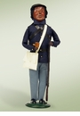 Byers Choice Carolers African American Union Soldier Doll