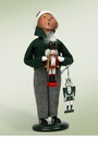 Byers Choice Carolers Boy with Nutcracker Doll