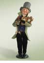 Byers Choice Carolers Clockmaker Doll