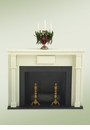 Byers Choice Carolers Fireplace