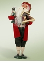 Byers Choice Carolers German Santa Doll