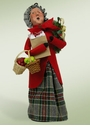 Byers Choice Carolers Grandmother Shopper Doll
